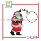 Santa Christmas gift keychain