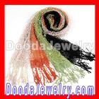 Fashion Cream Openwork Lace Pashmina Shawls Wholesale