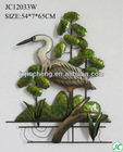 Crane designs wall hanging for home decor