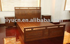 2011 Chunhong Brand Classic Antique Carven Queen Bamboo Bed