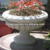 Landscaping granite stone flowerpot