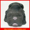 New Designable Hot Selling Black Dog Shape Stress Relief Toys