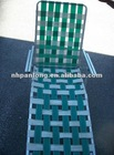 Promotional plastic Beach Chair Summer fashion beach chaise lounge chairs