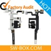 Earphone Jack Flex Cable For iPhone 4S - Black