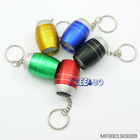 New Arrival Mini egg shaped 6 LED flashlight