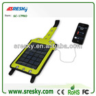 Original manufacture Solar collector system solar emergency charge solar bagpack