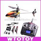 Hot WL-V911 2.4G 4CH Single Blade Gyro remote control helicopter RTF