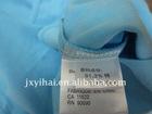 White Coated Nylon Taffeta Label Washable Lablel