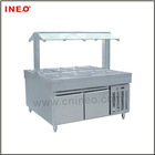 8 Pan Electric Buffet Cold Bain Marie (buffet fridge) DM50-8