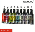 Smoktech latest Ego Single coil tank 2.5ml Ego SCT with Improved quality