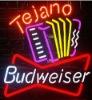 Budweiser Tejano neon sign