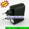 Sinoela MP3 MP4 DV Charger Black EU Plug USB AC DC Power Supply Wall Charger Adapter