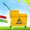 mop bucket wringer /mop weinger/plastic Mop bucket Wringer/Deluxe mop wringer