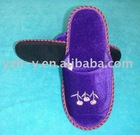 Golden Velvet Hotel Slipper