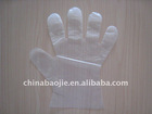 disposable plastic pe gloves for food grade using