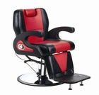 2012 luxury barber chair with hydraulic pump salon chair MX-2680A (hydraulic pump&chromed base)