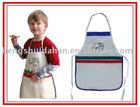 Children drawing apron