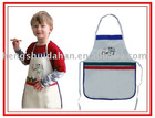 Children drawing apron