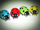 Mini led vibrating beetle toy