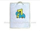 clear PVC & nonwoven Pillow bag