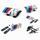Wholesale ///M Car Badge,3D Mpower style car grill emblem,///M Emblem for BMW safe shipping