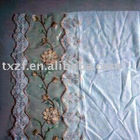 Embroidery organza curtain