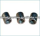 Zinc plated standard nuts,OEM available