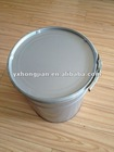 Simple painting with metal handle steel bucket