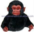 lively gorilla plush fabric animal golf head cover
