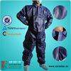 CPE+PP nonwoven Coverall w/o hood and shoe covers