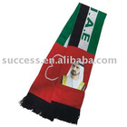 SS10-3K018 Jacquard scarf ( fan scarf, soccer scarf, sports scarf )