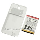 Galaxy Note 2 N7100 Extended Battery with Battery Back Door Case 6500 mAh