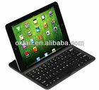 New Arrival Aluminum Bluetooth Keyboard for ipad mini