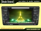 Car dvd player for Skoda Octavia from factory with economic price