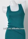 Ladies' sleeveless blank tank top