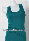 Ladies' sleeveless blank tank top