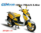 Classic model Beautiful color china eec epa 125cc moped