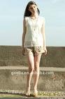 hot sale transparent lady shirt blouse woven top