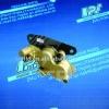 Motorcycle brake pump assembly