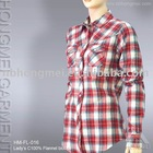 women casual check shirt