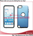 Aluminum with Silicon Case for iPod Touch 5