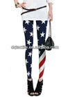 USA Flag Design Fashion Legging for Women FIFA 2014
