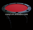 "52"" Round Poker Table with folden iron leg"