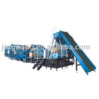 Waste tires recycling machine