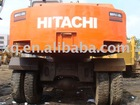 USED HITACHI EX100WD-1 WHEEL EXCAVATOR uesd hitachi excavator