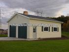 Prefab mobile garage cabin