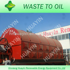 Environmental protection tyre recycling plant with auto feeder and negative pressure to keep high oil output and safety