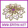 newest fashion jewelry headdress flower