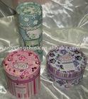 Round Hand Made Gift Box (Gift Tin)