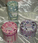 Round Hand Made Gift Box (Gift Tin)